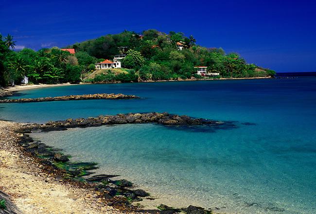 Anse Mitan (beach) near Les Trois Ilets, Martinique, French West Indies