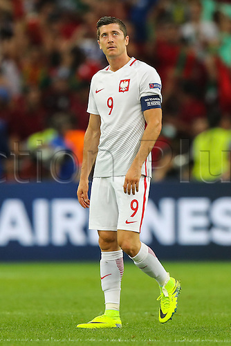 30.06.2016. Marseille, France. UEFA EURO 2016 quarter final match between Poland and Portugal at the Stade Velodrome in Marseille, France, 30 June 2016.   Robert Lewandowski (POL)