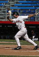 July 13, 2003:  Scott Dierks of the Jamestown Jammers during a game at Russell Diethrik Park in Jamestown, New York.  Photo by:  Mike Janes/Four Seam Images