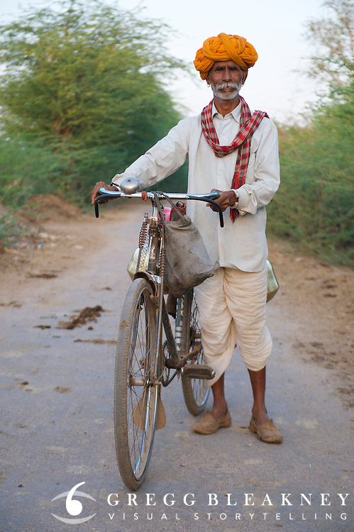 Rural Milkman - Borkhandi, India