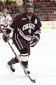 Kevin Lough (Colgate - 4) - The Harvard University Crimson defeated the visiting Colgate University Raiders 7-4 (EN) on Saturday, February 20, 2016, at Bright-Landry Hockey Center in Boston, Massachusetts,