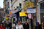 Shops and shoppers, Oxford Street, London