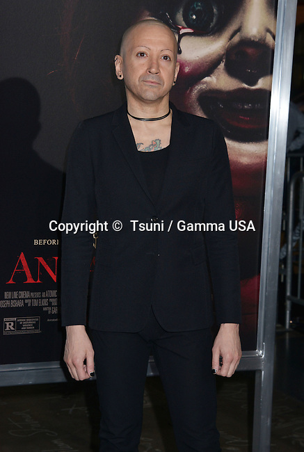 Joseph Bishara 715 at the Annabelle Premiere at the TCL Chinese Theatre in Los Angeles.