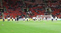 Deutschland waermt sich auf - 01.09.2017: Tschechische Republik vs. Deutschland, Eden Arena
