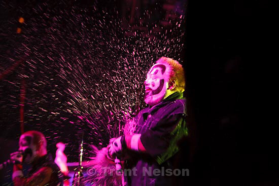Trent Nelson  |  The Salt Lake Tribune.Insane Clown Posse performs at The Great Salt Air (Saltair) Thursday, October 1 2009 west of Salt Lake City. violent j, shaggy 2 dope