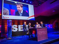 Rotterdam, Netherlands, December 16,  2017, Topsportcentrum,  KNLTB Jaarcongres,  Table discussion<br /> Photo: Tennisimages/Henk Koster