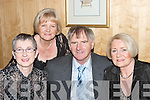 SUPPORTERS: Supporters enjoying the Beale GAA Social in The Golf Hotel, Ballybunion, on Friday night were, Eileen and Vincent Purtill and Mary Horgan. Back, Rosarie OConnor..