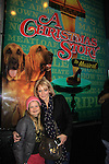 """Maura West - As The World Turns' """"Carly"""" and Young and Restless, poses with her daughter Kate as son Joe makes his Broadway Debut as """"Ralphie"""" in A Christmas Story The Musicall on December 20, 2012 at the Lunt-Fontanne Theatre, New York City, New York. (Photo by Sue Coflin/Max Photos)"""