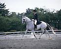 Hiroshi Hoketsu,.JUNE 13, 1986 - Equestrian : Hiroshi Hoketsu in action during the Equestrian competition at the Asian Games 2nd qualifying selection in Japan..(Photo by Shinichi Yamada/AFLO) [0348]