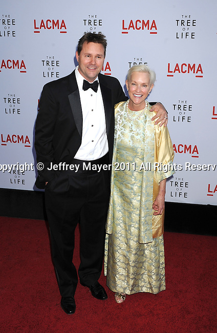 "LOS ANGELES, CA - MAY 24: Will Wallace and Alexandra Wallce attend ""The Tree Of Life"" Los Angeles Premiere at the Bing Theatre in the Los Angeles County Museum of Art on May 24, 2011 in Los Angeles, California."