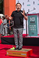 LOS ANGELES, USA. April 12, 2019: Billy Crystal at the hand & footprint ceremony honoring Billy Crystal at the TCL Chinese Theatre.<br /> Picture: Paul Smith/Featureflash
