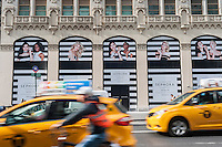 A future Sephora store, scheduled to open in 2017, on Fifth Avenue in New York on Thursday, November 3, 2016. Landlords on Fifth Avenue, a premiere shopping street, are reported to be holding a record number of vacant storefronts. Availability on the avenue has jumped to a 15.9 percent vacancy rate from only a 10 percent rate at the same time last year. ( © Richard B. Levine)