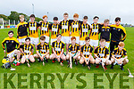 The Abbeydorney U16's who were defeated by Ballyduff in the U16 Co Hurling Championship Final in Lerrig on Sunday evening.