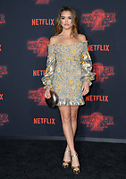 Paris Berelc at the premiere for Netflix's &quot;Stranger Things 2&quot; at the Westwood Village Theatre. Los Angeles, USA 26 October  2017<br /> Picture: Paul Smith/Featureflash/SilverHub 0208 004 5359 sales@silverhubmedia.com