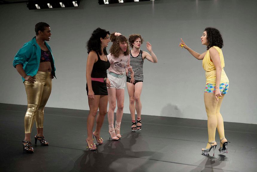 Niv Acosta, Sarah Holcman, Talya Epstein and Tyler Ashley with Larissa Velez-Jackson | The Center For Performance Research | Brooklyn, NY | 2011