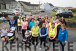 A good turn out at ashen Pier Ballyduff for the Ballyduff Branch of the Kerry Hospice Annual walk on Good Friday