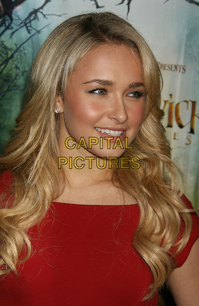 "31 January 2008 - Hollywood, California - Hayden Panettiere. ""The Spiderwick Chronicles"" Los Angeles Premiere held at the Paramount Theatre. Photo Credit: Russ Elliot/AdMedia"