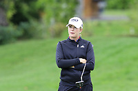 Paula Creamer (USA) on the 7th green during Wednesday's Pro-Am Day of The Evian Championship 2017, the final Major of the ladies season, held at Evian Resort Golf Club, Evian-les-Bains, France. 13th September 2017.<br /> Picture: Eoin Clarke | Golffile<br /> <br /> <br /> All photos usage must carry mandatory copyright credit (&copy; Golffile | Eoin Clarke)