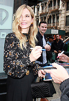 NEW YORK, NY - OCTOBER 11: Sylvia Hoeks seen at AOL's Build Series in New York City on October 11, 2017. <br /> CAP/MPI/RW<br /> &copy;RW/MPI/Capital Pictures