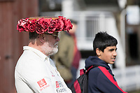 Some Interesting head gear on display before the first day's play at Lords during Middlesex CCC vs Lancashire CCC, Specsavers County Championship Division 2 Cricket at Lord's Cricket Ground on 11th April 2019