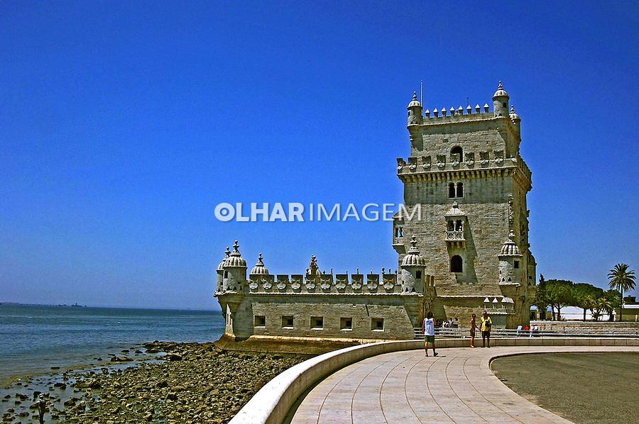 Torre de Belém em Lisboa. Portugal. 2005. Foto de Rogério Reis.