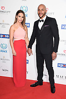 Katie Piper<br /> arriving for the Football for Peace initiative dinner by Global Gift Foundation at the Corinthia Hotel, London<br /> <br /> ©Ash Knotek  D3493  08/04/2019