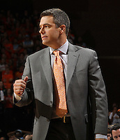 Virginia Cavaliers head coach Tony Bennett during the game against North Carolina in Charlottesville, Va. North Carolina defeated Virginia 54-51.