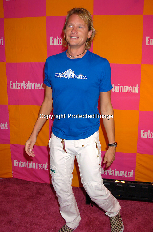 """Carson Kressley ..at The Entertainment Weekly's """"The Must List"""" party at ..Crobar in New York City on June 17, 2004. ..Photo by Robin Platzer, Twin Images"""