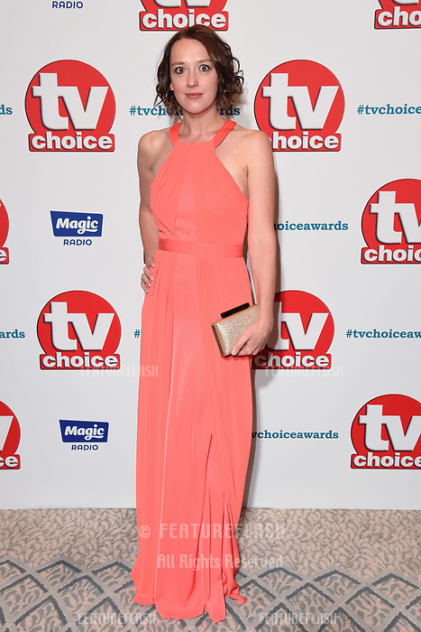 LONDON, UK. September 10, 2018: Jessica Ransom at the TV Choice Awards 2018 at the Dorchester Hotel, London.<br /> Picture: Steve Vas/Featureflash