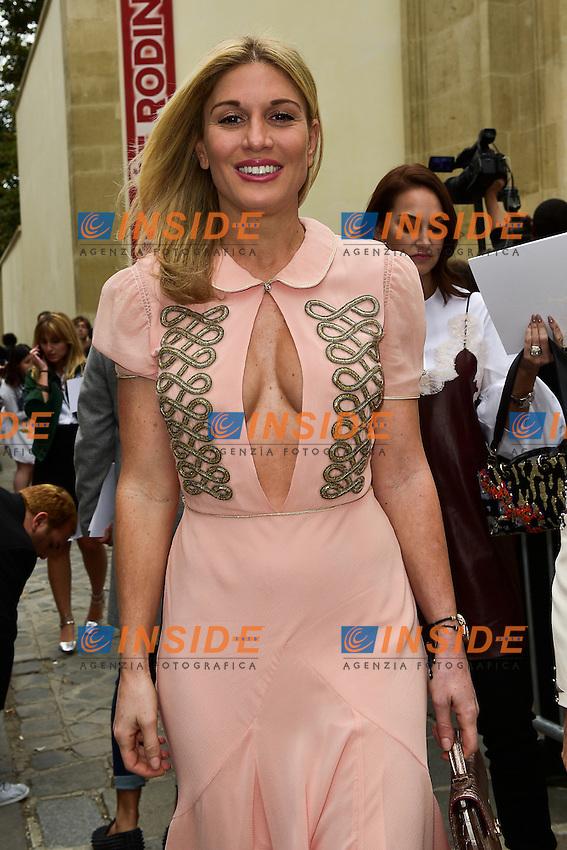 Hofit Golan <br /> Dior fashion show arrivals - Paris - 30/09/2016