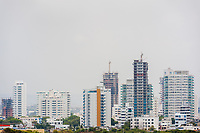 Newly constructed apartment buildings are seen on Bahía de Manga's skyline in Cartagena, Colombia, 15 April 2018. With the peace agreement, ending a 52-year civil conflict and promising political stability, together with rapid economic growth and unexploited tourism potential, Colombia has truly become a holiday destination. Cartagena, a UNESCO World Heritage site on the tropical Caribbean coast, plays the primary role in Colombia's tourism renaissance. The historic sites from the Spanish colonial times are being restored, private investments are visible throughout the city and an increased number of local people benefit from the boom of the travel related services.