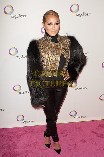 NEW YORK, NY -  FEBRUARY 26: Adrienne Bailon attends the Nueva Latina campaign launch at Helen Mills Event Space on February 26, 2014 in New York City.  <br /> CAP/MPI/COR<br /> &copy;Corredor99/ MediaPunch/Capital Pictures
