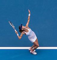 AGNIESZKA RADWANSKA (POL)<br /> Tennis - Australian Open - Grand Slam -  Melbourne Park -  2014 -  Melbourne - Australia  - 18th January 2014. <br /> <br /> &copy; AMN IMAGES, 1A.12B Victoria Road, Bellevue Hill, NSW 2023, Australia<br /> Tel - +61 433 754 488<br /> <br /> mike@tennisphotonet.com<br /> www.amnimages.com<br /> <br /> International Tennis Photo Agency - AMN Images