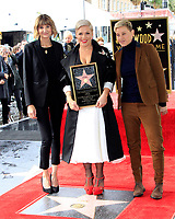 LOS ANGELES - FEB 5:  Kerri Kenney-Silver, Pink, Ellen DeGeneres at the Pink Star Ceremony on the Hollywood Walk of Fame on February 5, 2019 in Los Angeles, CA