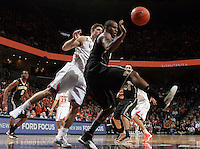 during the game Wednesday Jan. 08, 2014 in Charlottesville, Va. Virginia defeated Wake Forest 74-51.