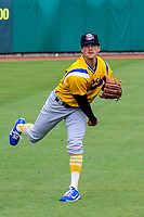 Biloxi Shuckers pitcher Taylor Williams (24) during a Southern League game against the Tennessee Smokies on May 25, 2017 at Smokies Stadium in Kodak, Tennessee.  Tennessee defeated Biloxi 10-4. (Mandy Krause/Krause Sports Photography)