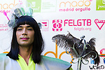21.06.2012. Press conference presenting MADO'12, Madrid Pride in the SGAE (Madrid). With the presence of Boti G. Rodrigo (president of FELGTB) Raul Garcia (manager of COGAM) Mayka Contreras (president of AEGAL) and Juan Carlos Alonso (coordinator of MADO). (Alterphotos/Marta Gonzalez)