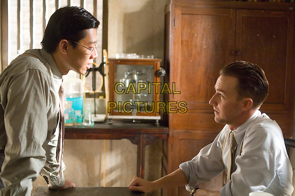 LU XIA & EDWARD NORTON.in The Painted Veil .**Editorial Use Only**.CAP/FB.Supplied by Capital Pictures
