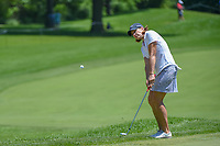 Juli Inkster (USA) chips on to 10 during round 2 of the 2018 KPMG Women's PGA Championship, Kemper Lakes Golf Club, at Kildeer, Illinois, USA. 6/29/2018.<br /> Picture: Golffile | Ken Murray<br /> <br /> All photo usage must carry mandatory copyright credit (&copy; Golffile | Ken Murray)