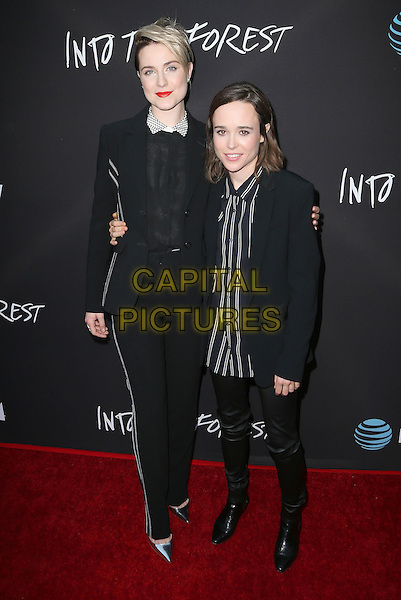 22 June 2016 - Hollywood, California - Evan Rachel Wood, Ellen Page. &quot;Into The Forest&quot; Los Angeles Premiere held at ArcLight Hollywood.  <br /> CAP/ADM/FS<br /> &copy;FS/ADM/Capital Pictures