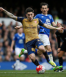 Hector Bellerin of Arsenal during the Barclays Premier League match at The Goodison Park Stadium. Photo credit should read: Simon Bellis/Sportimage