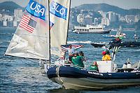 AR_08162016_RIO_PREOLYMPICS_0111.ARW  © Amory Ross / US Sailing Team.  RIO DE JENEIRO - BRAZIL. August 16, 2016. Day 9 of racing at the Olympics.