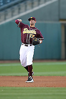 Devon Marrero #17 of the Arizona State Sun Devils plays against Northern Illinois University in the annual Coca-Cola Classic at Surprise Stadium on March 4, 2011 in Surprise, Arizona..Photo by:  Bill Mitchell/Four Seam Images.