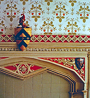 Strawberry Hill: Garden Room, Home of Horace Walpole. Picturesque style.