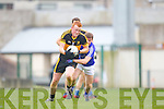 Johnny Buckley of Dr Crokes and Sean Collins of Cratloe in the AIB Munster Senior Football Final played last Sunday in The Gaelic Grounds, Limerick.