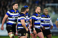 Michael van Vuuren of Bath Rugby looks on. Anglo-Welsh Cup match, between Bath Rugby and Leicester Tigers on November 4, 2016 at the Recreation Ground in Bath, England. Photo by: Patrick Khachfe / Onside Images
