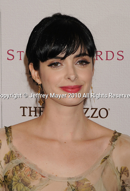 LOS ANGELES, CA. - December 12: Krysten Ritter arrives at the 2010 Hollywood Style Awards at The Billy Wilder Theater at the Hammer Museum on December 12, 2010 in Los Angeles, California.