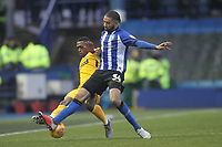 Preston North End's Darnell Fisher  battles with  Sheffield Wednesday's Michael Hector<br /> <br /> Photographer Mick Walker/CameraSport<br /> <br /> The EFL Sky Bet Championship - Sheffield Wednesday v Preston North End - Saturday 22nd December 2018 - Hillsborough - Sheffield<br /> <br /> World Copyright &copy; 2018 CameraSport. All rights reserved. 43 Linden Ave. Countesthorpe. Leicester. England. LE8 5PG - Tel: +44 (0) 116 277 4147 - admin@camerasport.com - www.camerasport.com