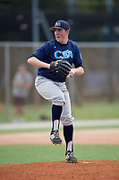 Tommy Lamb (75) during the WWBA World Championship at the Roger Dean Complex on October 10, 2019 in Jupiter, Florida.  Tommy Lamb attends Grafton High School in Grafton, WI and is committed to Oklahoma.  (Mike Janes/Four Seam Images)