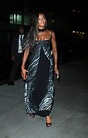 NEW YORK, NY - OCTOBER 23: Naomi Campbell arriving to the V Magazine Dinner in honor of Karl Lagerfeld at the Standard High Line in New York City on October 23, 2017. Credit: RW/MediaPunch /NortePhoto.com